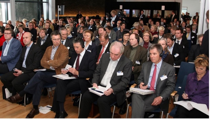 Steve was a keynote speaker at a major conference in Iceland with five Nordic prime ministers