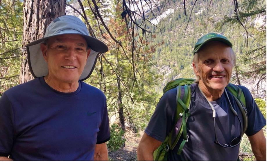 Steve Ciesinski with Legendary Yosemite Ranger, Dick Ewart