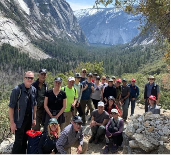 Steve with Yosemite Conservancy board members