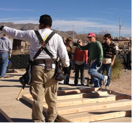 Steve working with Missions Ministries in Juarez, Mexico